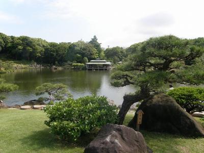 江東区の名所を訪ねる散策・・・③清澄庭園の回遊式林泉庭園を楽しむ