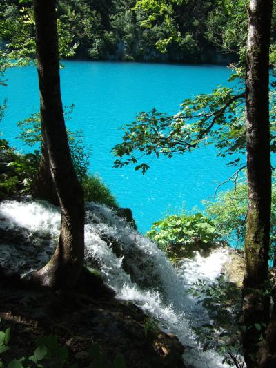水が織りなす奇跡の絶景 プリトヴィッツエ湖群国立公園 Ⅱ ~2009年7月 アドリア海へハネムーン その13~