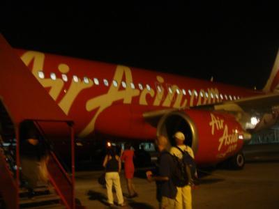 東南アジア旅行記(Air Asia 搭乗記)