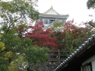 プチひとり旅。。。日本百名城【11】岐阜城と川原町