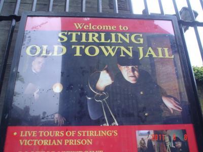 23年ぶりのスコットランド-14-スターリング、アーガイルの宿・牢獄博物館など観光