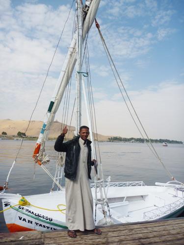 エジプト新婚旅行16日間⑥☆アスワン観光