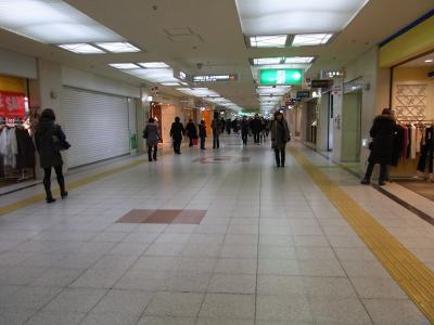 札幌の地下街は地下鉄との間をつながっていますので歩く気になればかなり!!