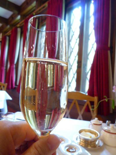 新緑の上高地♪ 帝国ホテルで優雅なリゾートライフ!Vol5(第2日目:朝) ☆上高地帝国ホテルの朝食はシャンパンとともに♪