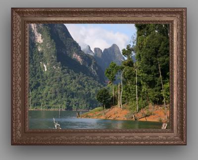 カオソック タイ人も知らない秘境 RAJJAPHAPAダム湖
