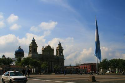 久しぶりの国境越え ④グアテマラ・シティ