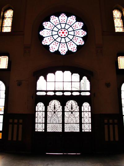 トルコ72 イスタンブールp シルケジ駅*ヨーロッパ側の始発駅で ☆旅情さそう駅舎&鉄路