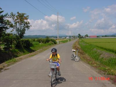北海道自転車の旅(宗谷岬から襟裳岬) 8日目、9日目は石狩平野を縦断100キロ