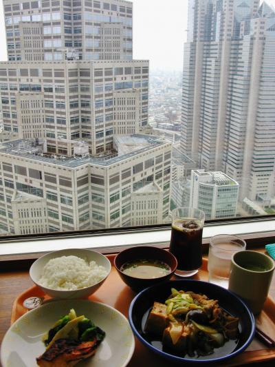 東京都第一本庁舎 45階南展望室で ☆職員食堂利用はお値打ち!