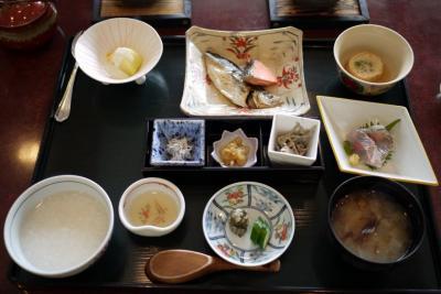 09.GW前半の初島旅行 エクシブ初島 日本料理 初海の連泊料理の朝食