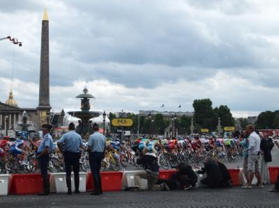 ◆ツールドフランス最終日!◆2010.7◆8日目◆個人旅行