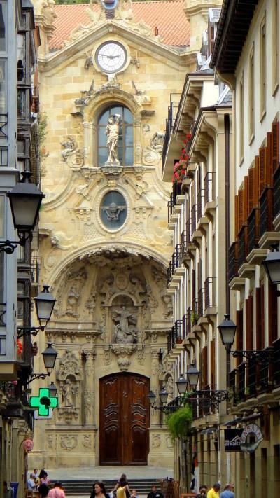スペイン30日、9都市めぐり 25. サンセバスチャン2 バル街 San Sebastian