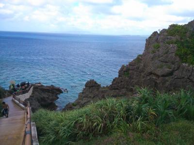 沖縄旅行(安富祖・青の洞窟)