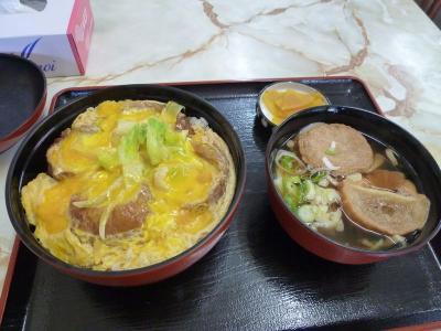 たまには「ベタ」なB級ご当地グルメ1107  「油麩丼」  ~登米・宮城~