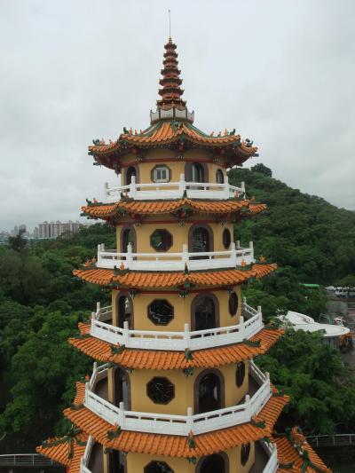 初台湾 高雄 雨にあう