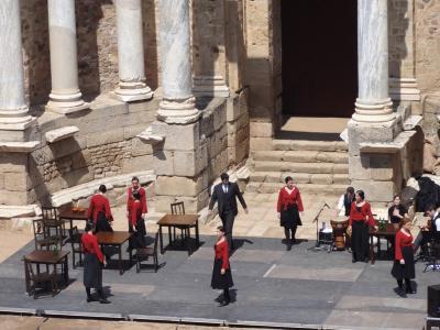 現役のローマ遺跡が残る町@メリダ(2011GW⑤-1)
