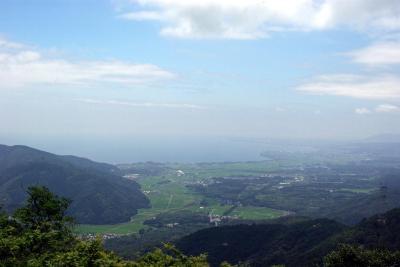 夏の奥琵琶湖眺望がGOOD!赤坂山