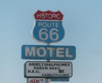 グランドサークル ドライブ旅行16:ちょっと寄り道 ルート66 セリグマン