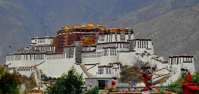 チベット、ラサへ  9 ポタラ宮