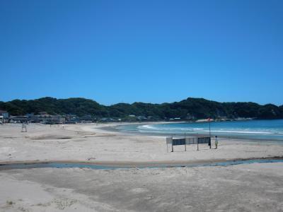 海開き前日の海へ♪