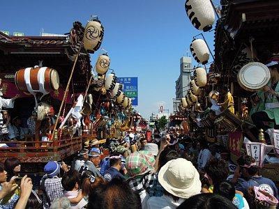 熊谷うちわ祭 2日目に行ってきました