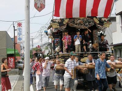 久喜市鷲宮の八坂祭り