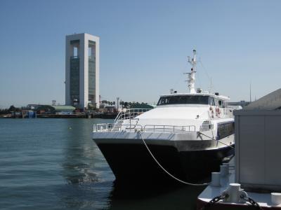 近くに行きたい♪ 「今は亡き セントレア発高速船に乗って四日市へ行ってみました。」