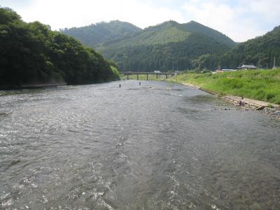 久慈川を楽しむ
