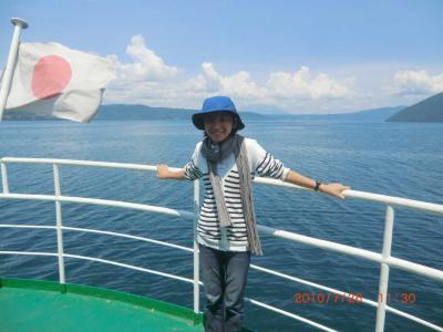 ◆初夏の北海道満喫ドライブ旅行◆その3:洞爺湖汽船クルーズ・中島(大島)ハイキング