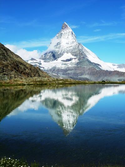2011.9 スイス・ハイキング三昧の旅2011【4】…逆さマッターホルンに出会う感激のハイキング