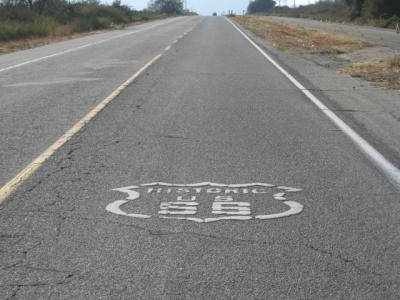 アメリカ西海岸(+メキシコ・ティファナ)とグランドキャニオン(4) ルート66(ロス⇒ベガス)