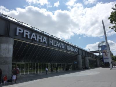 ブダペストからECでプラハへ その1
