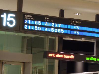 南ドイツを楽しむ★成田出発から到着まで