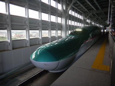新幹線 はやぶさ初乗車