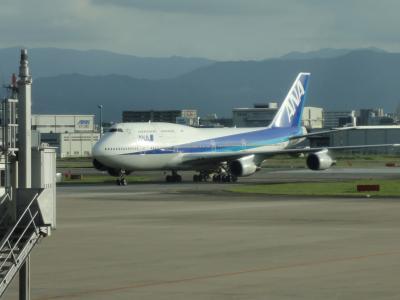 熊本出張 夏休みのセントレアと福岡空港
