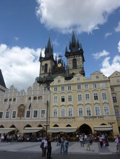 ブダペストからECでプラハへ その2