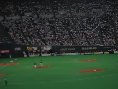 札幌遠征(1日目)ドームツアー&野球観戦