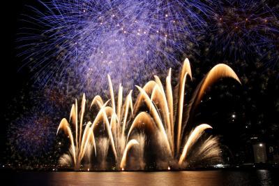 なにわの元気を花火にのせて がんばろう日本! 「第23回 なにわ淀川花火大会」 ~ちびくま撮影分~
