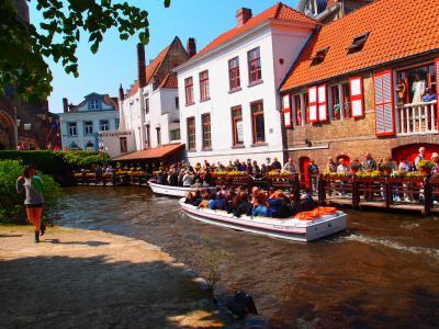 ☆チューリップの国オランダとチョコレートの国ベルギーをめぐる街歩き☆