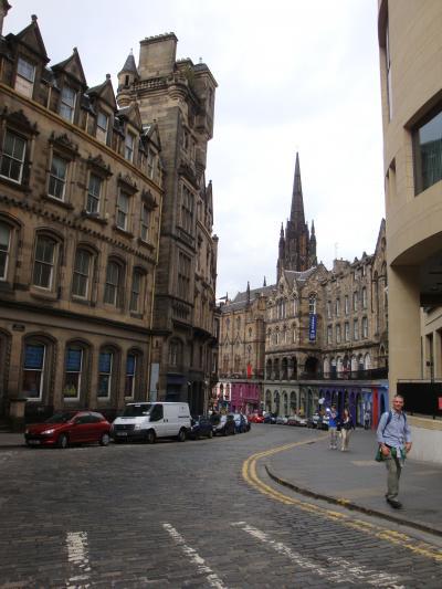 【2011年夏】スコットランドの旅:その2~世界遺産エディンバラ街歩き(後半)~