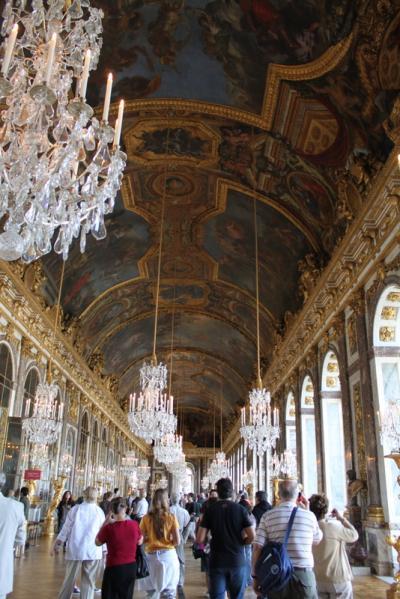 ドイツ・フランス '1009 ② パリの休日・ヴェルサイユ宮殿