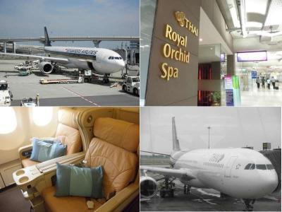 ビジネスクラスでバリ島へ、SQ vs TG 乗り比べ[比較搭乗記]