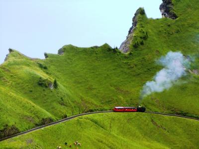2011.7 スイス・ハイキング三昧の旅2011【12】…「ブリエンツ・ロートホルン」ラストハイキングも雨の中