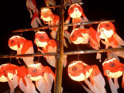 柳井 金魚祭り