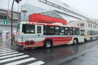 地元バスのデジタルスタンプラリー