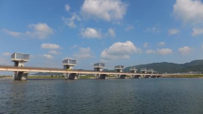 夏の18きっぷ旅行 和歌山市内編 4-2 レンタサイクルで紀ノ川大堰へ