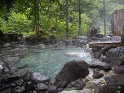 奥鬼怒・平家平温泉へと秘湯を求めて(2011年8月)