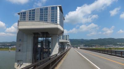 夏の18きっぷ旅行 和歌山市内編 4-3 水ときらめき・紀の川館と東の橋