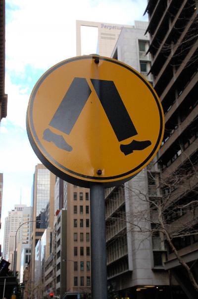 シドニーの街歩き