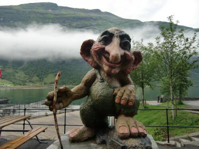 2011年夏 次のフィヨルドはノルウェーガイランゲルの夏旅行